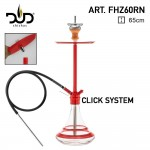 DUD Shisha Space Needle Red 65cm